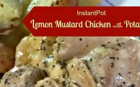 Lemon Mustard Chicken with Potatoes Recipe | Yummly