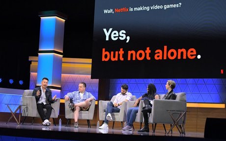 Netflix Takes Baby Steps Into Video Gaming
