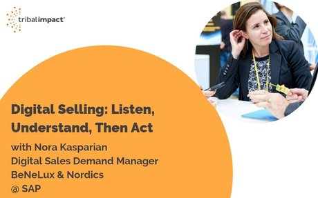 Digital Selling with SAP's Nora Kasparian #DigitalSelling