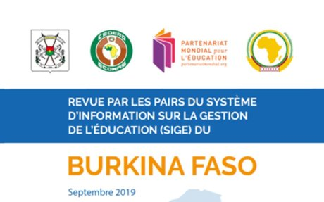 Burkina Faso Revue par les pairs du Système d'information sur la gestion de l'éducation