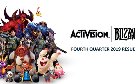 Activision Blizzard Reports FY 2019 Revenues Down 13%