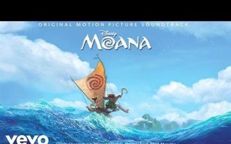 """How Far I'll Go From """"Moana"""