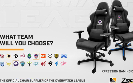 Overwatch League Adds DreamSeat's Zipchair Gaming as Chair Sponsor
