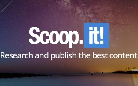 Scoop.it enables professionals and businesses to research and publish content - Be your...