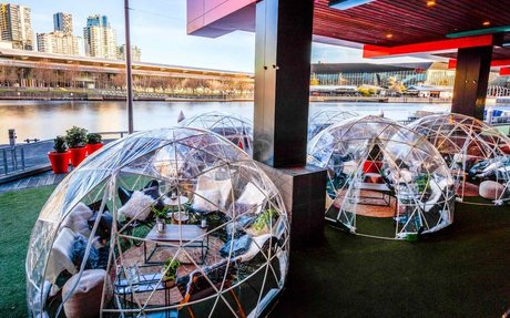 You Can Now Hire Out a Private Igloo for Dinner and Drinks at These Three Melbourne Pubs