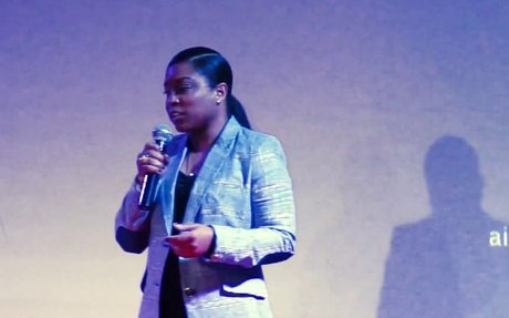 Proceed With Courage - Leaders Can't Be Cautious   Minda Harts   TEDxHarlem