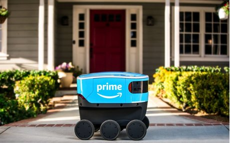 Here's how Amazon robots could make the deliveryman extinct