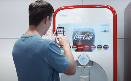 BRAND HIGHLIGHT // Coke Adds Contactless Tech To Freestyle Machines In-Store