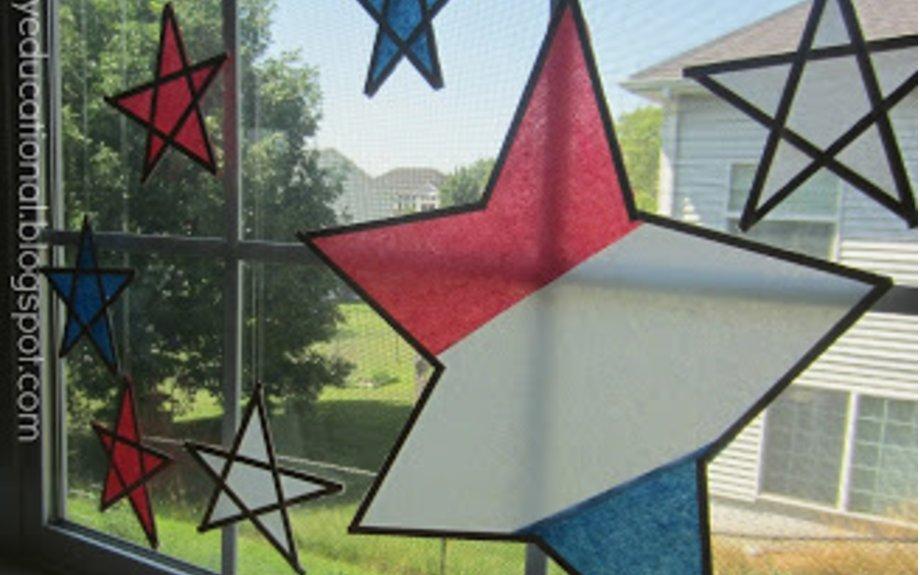 Star-Spangled Sun Catchers