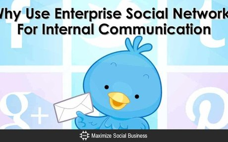 Why You Should Use Enterprise Social Networks For Internal Communication #InternalComms