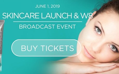 Beyond Skincare Launch & Wellness 8 Broadcast Event (FREE Skincare system this week only!)