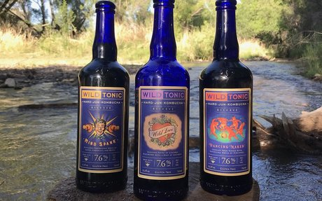 Wild Tonic releases alcoholic hard jun kombucha range