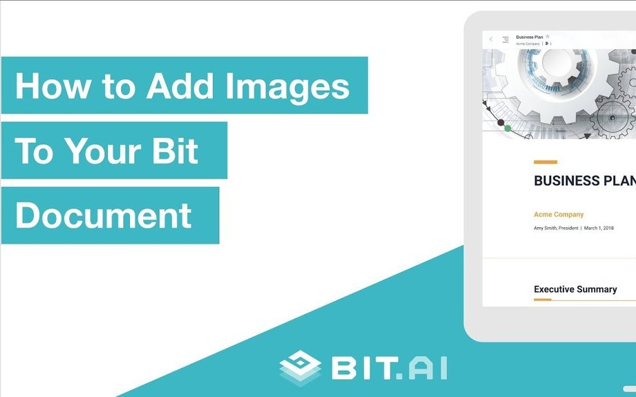How to add Images and GIFs to your documents | Bit.ai | Smartest Documents on the Planet