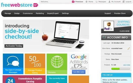 Create your own free ecommerce store with Freewebstore - Be your own boss and earn mone...