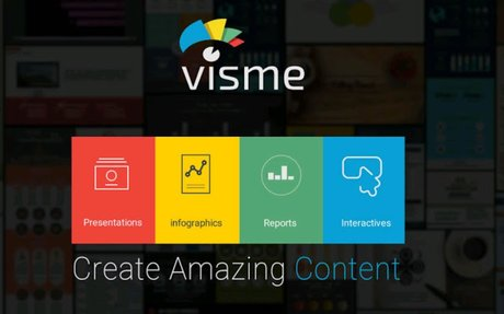 Make Professional Presentations and Infographics Online with Visme's free tool
