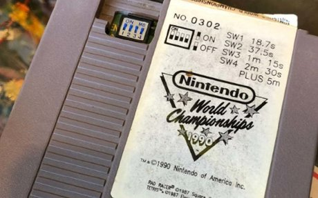Nintendo World Championships 1990 Found in Bag of Old NES Cartridges | Digital Trends
