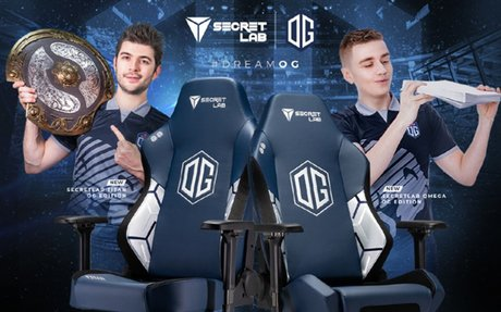 Secretlab Announces Partnership With Dota 2 World Champions OG