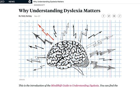 Why Understanding Dyslexia Matters