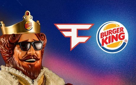 FaZe Clan announces Burger King partnership to launch new burger | Dexerto.com
