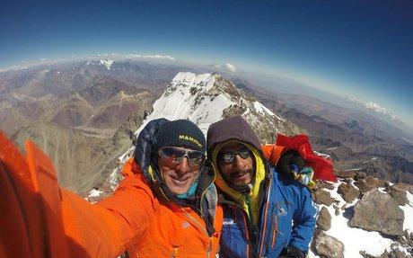 Team Speed Rekord am Aconcagua   Bergsteigen.com