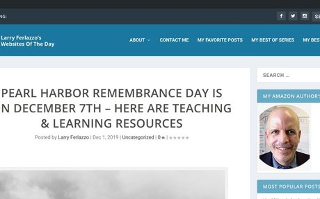Pearl Harbor Remembrance Day Is On December 7th – Here Are Teaching & Learning Resources