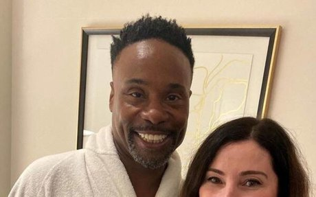 Billy Porter from Golden Globes 2020 Pre-Red Carpet Pics