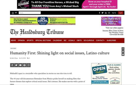 Humanity First: Shining light on social issues, Latino culture