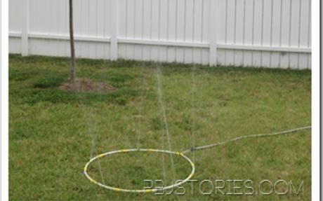 Ready for Summer: Hula Hoop Sprinkler