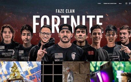 Wix and FaZe Clan form global esports partnership