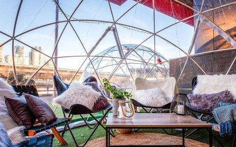 Igloo dining has returned to Melbourne and the timing couldn't be better
