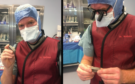 Dr. Robert Watkins performs spine surgery with Osseus Fusion Systems' lateral technology: 4 key notes