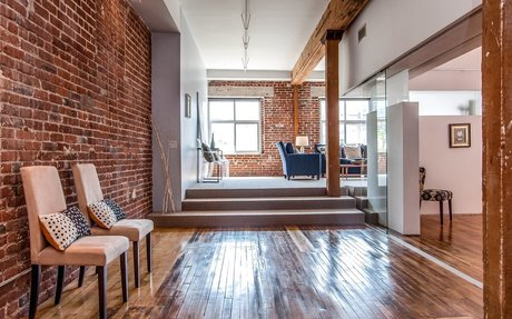 Glass-Roomed Live/Work in Arts District's Molino Street Lofts