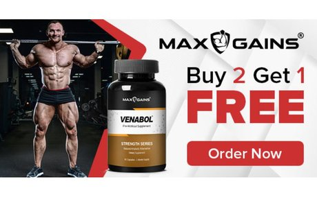 Max Gains Official Store - 100% Natural Anabolic Alternatives