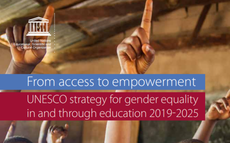 From access to empowerment: UNESCO strategy for gender equality in and through education