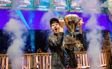 For Teen 'Fortnite' Champ, Winning Comes With Strings Attached