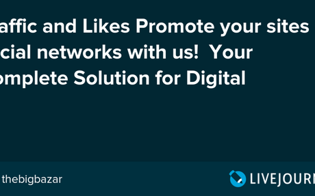 Traffic and Likes Promote your sites & social networks with us! Your Complete Solution ...