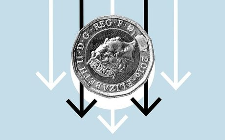 Pound could drop to near-parity with the dollar if market chaos continues