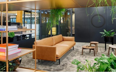 DESIGN // A High-Tech HQ Gives Employees A Phygital Personal User Journey