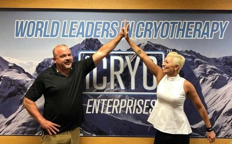iCRYO Cryotherapy Opening Port St. Lucie Location with Husband and Wife Duo