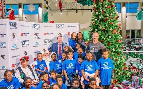 iCRYO Cryotherapy Partners with Jaylon Smith and Lone Star Toyota for Holiday Event Ben...